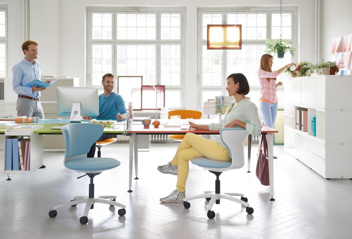 arbeitsplatz b ro wema raumkonzepte. Black Bedroom Furniture Sets. Home Design Ideas