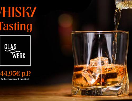 Whisky Tasting Abend im Glaswerk Oldenburg