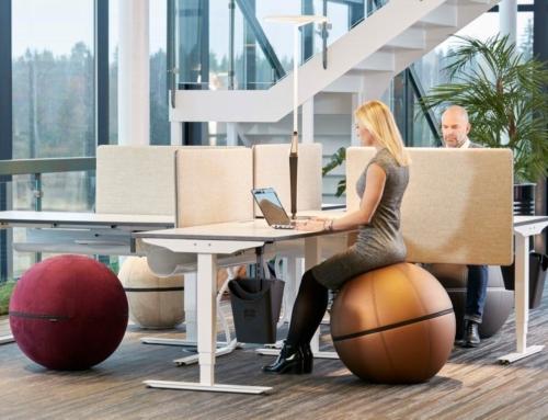 Der Ball für Ihre korrekte Sitzhaltung