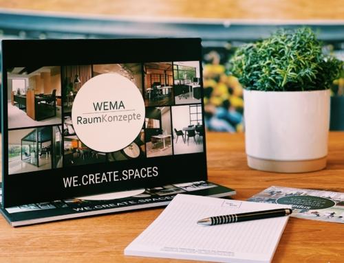 Neue WEMA RaumKonzepte Broschüre – WE.CREATE.SPACES